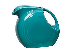 Disk Pitcher, TurquoiseTurquoise, Colors, Tabletop Classic, Fiestaware, Fiesta Ware, Disks Pitcher, Ware Pitcher, Fiestas Ware, Products