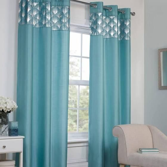 Living Room Wall Stencils Uk Group Best 25+ Teal Curtains Ideas On Pinterest | Curtain Styles ...