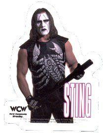 Sting - WCW Wrestler - Sticker / Decal