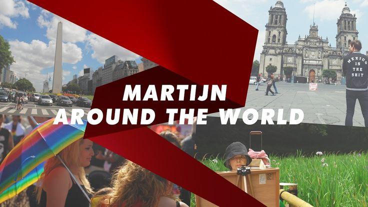 awesome Gay travel vlog // Madrid Barcelona Amsterdam Warsaw Tokyo Valencia // Martijn around the globe