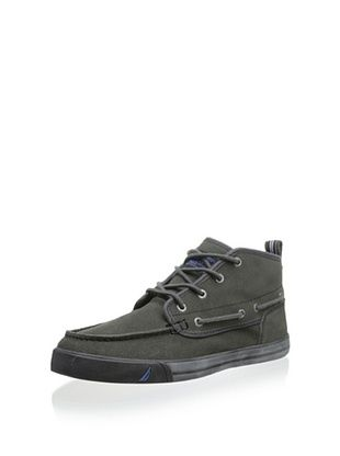 35% OFF Nautica Men's Del Mar High-Top Boat Shoe (Grey) | Men's ...