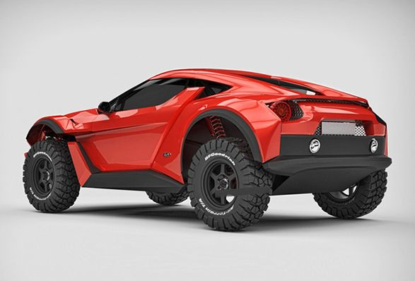 Zarooq Motors é uma nova marca automobilística dos EAU (Emirados Árabes Unidos), eles apresentaram o espetacular Sand Racer, um carro de corrida projetado especificamente para o deserto e para eventos de etapas longas de Rally RAID, como o f
