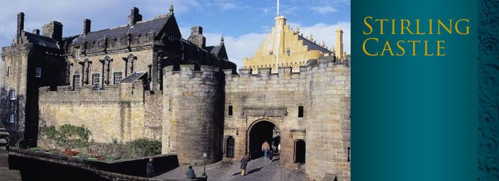 Stirling Castle - closer than edinburgh and  equally interesting!