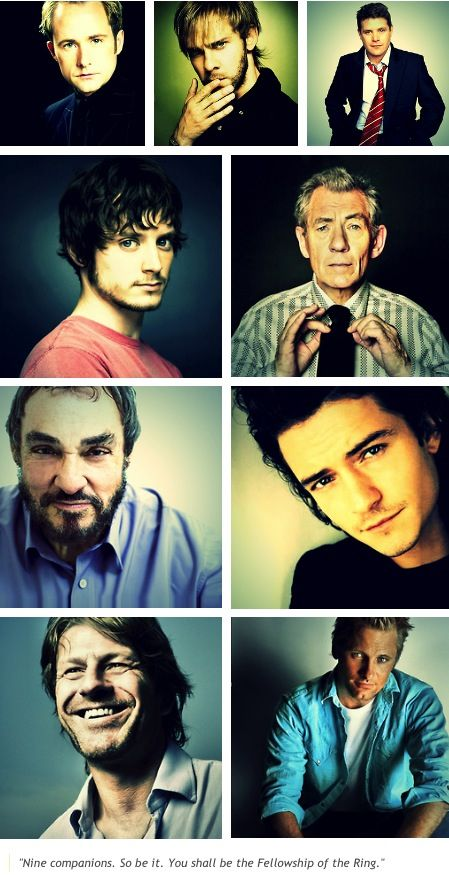 LOTR Cast, I call the one second row on the left!