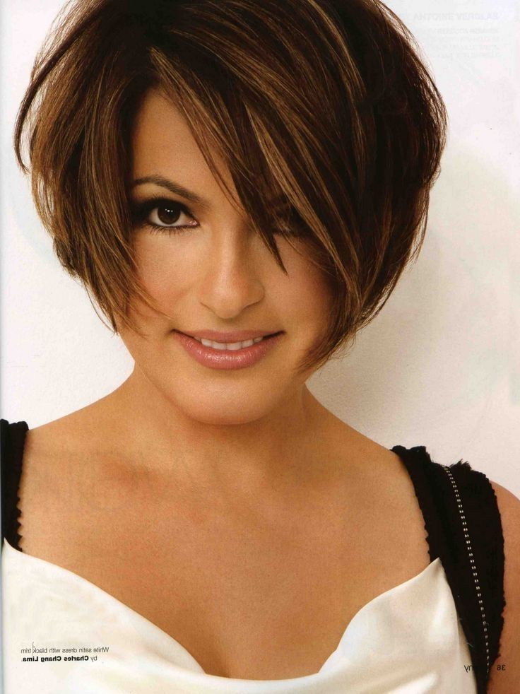 Image for Mariska Hargitay Short Hairstyles  Follicular  Short hairstyles for thick hair