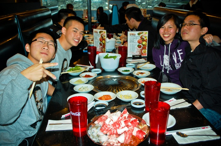 Lambdas cook up a storm at Palace Korean Barbecue. Who doesn't love #Korean BBQ? And if you've never had it before, we just feel bad for you. Korean BBQ is a culinary experience where you take marinated meat and cook it over a flaming grill in the middle of the table. The cool part is, you don't even need to go outside to enjoy it (unlike classic American BBQ). Hit us up and we'll take you to the city of Federal Way if you're down for some good eating.