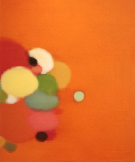 Radiant, Stray oil on canvas, 2013