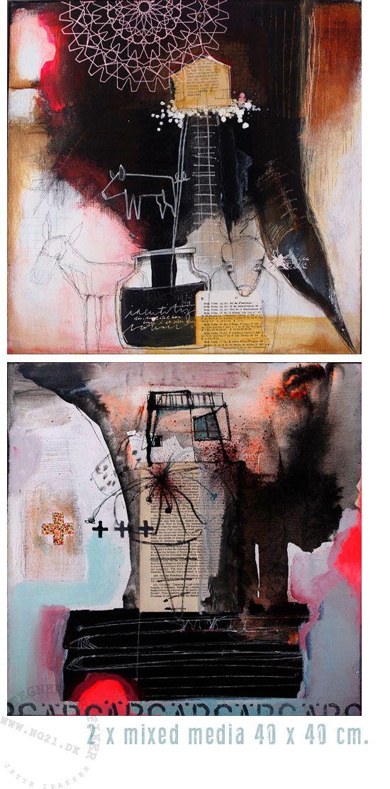 * No21 * hjemme hos Snullemor: Når jeg bare maler....