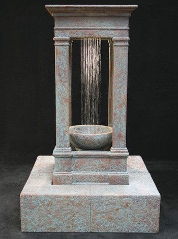 free shipping and no sales tax on the old world center rain outdoor water fountain
