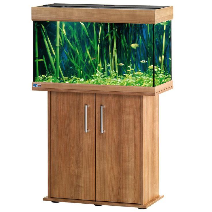 Animalerie  Ensemble aquarium/sous-meuble EHEIM vivaline 126  blanc brillant