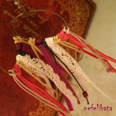 Gypsy Heart: boho chic handmade earrings - boho - boho chic - bohemian - ethno - jewelry - jewellery - ethnic - nefelibata - free - freedom - fringe - fringe earrings