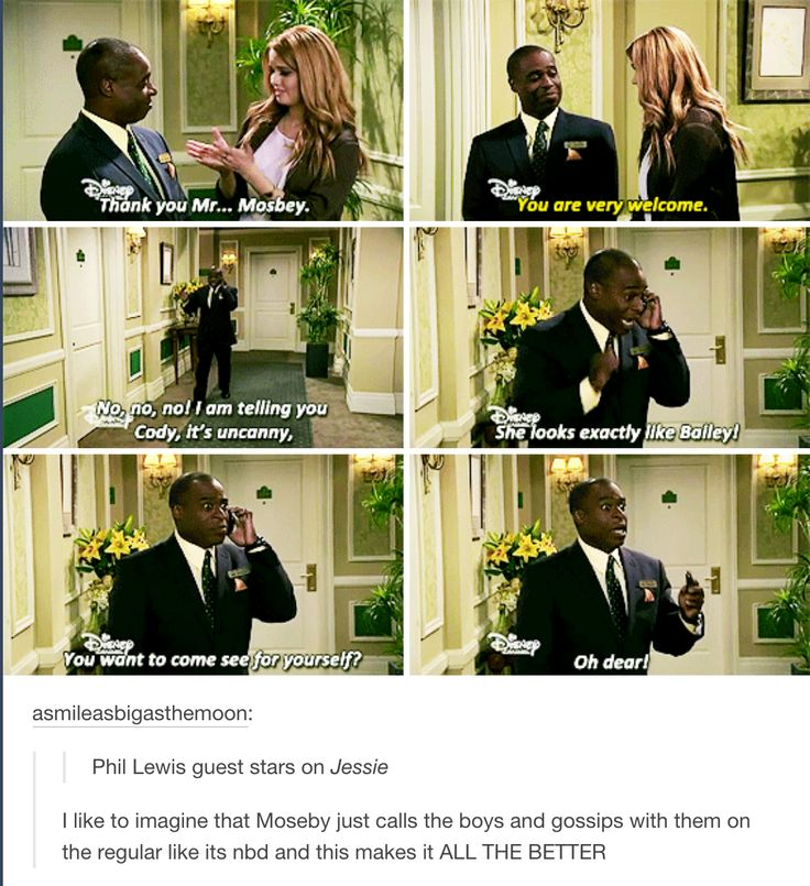 Mr Moseby keeping it real