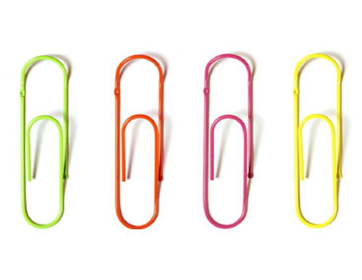 Giant paper clip coat hooks kidsinteriordesigns.com.au