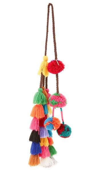 Lucja Pom Pom Bag Charm