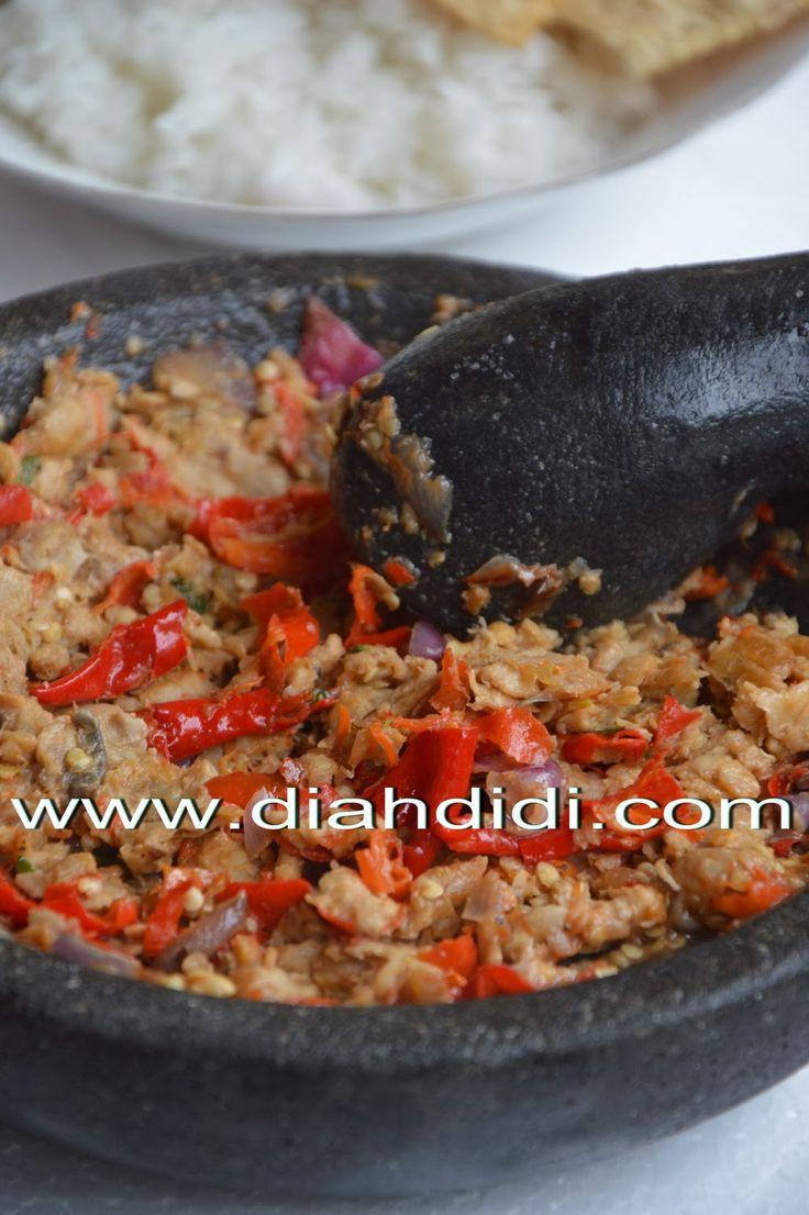 Diah Didi's Kitchen: Sambel Tempe..^^