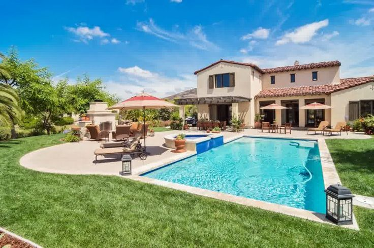 Ranch And Pool Two Examples Of Top House Design Fascinating Ranch House Backyard Design