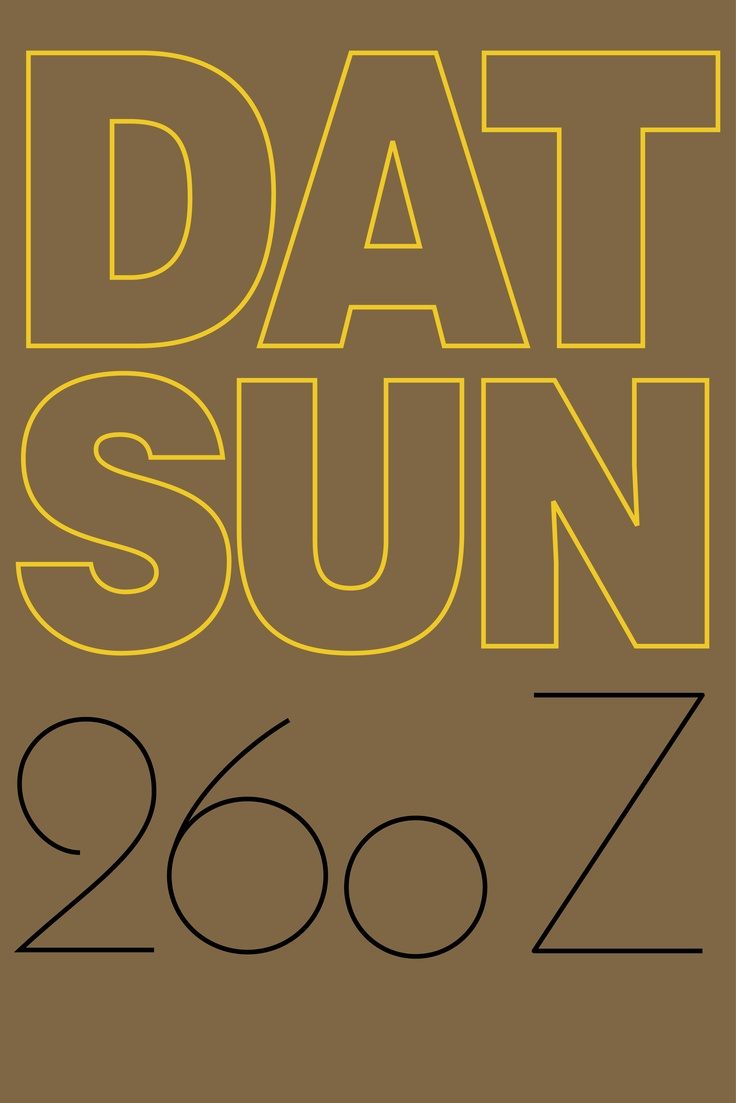 iPhone Wallpaper Project - Datsun 260Z
