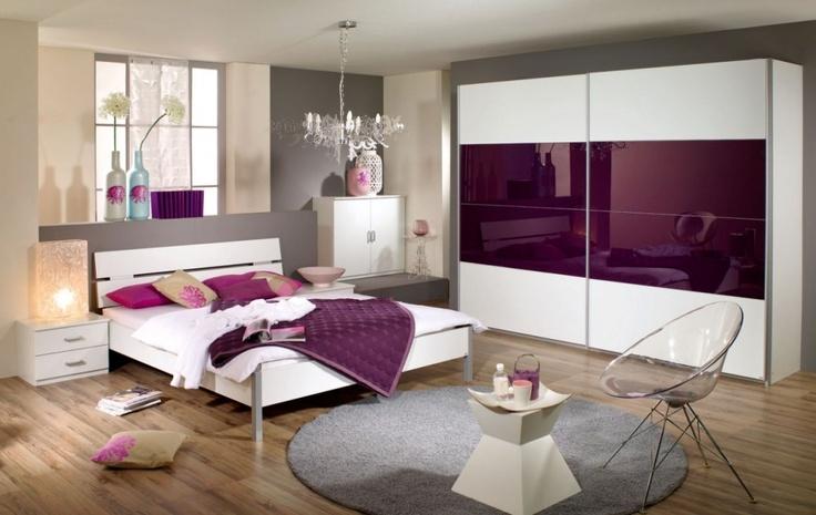 Komplett Schlafzimmer QUADRA #bett #kleiderschrank #guenstig - komplette schlafzimmer modern