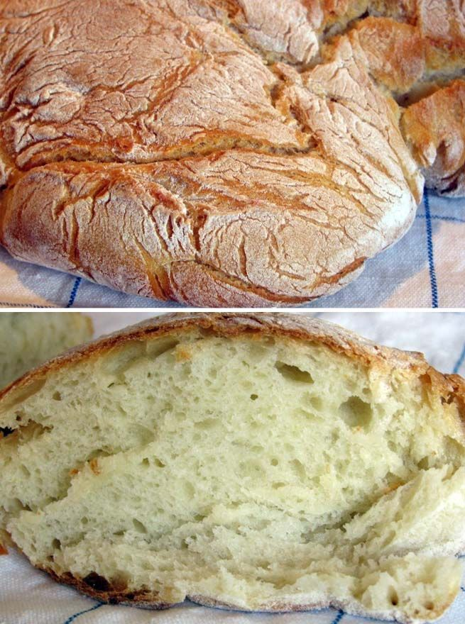 Homemade Bread with Potatoes