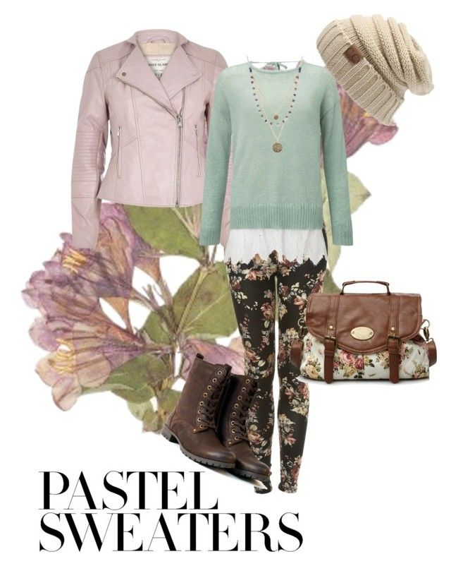"""""""#PastelSweaters"""" by cmmaldonado on Polyvore featuring Topshop, River Island, Miss Selfridge, Alicia Marilyn Designs and pastelsweaters"""