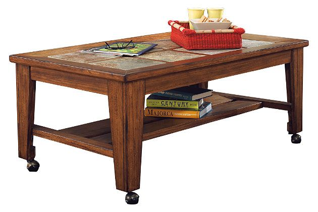 Toscana Coffee Table By Ashley Homestore Brown Coffee Table