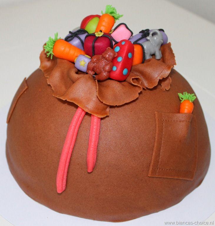 De zak van sinterklaas taart #taart #sinterklaas #cake