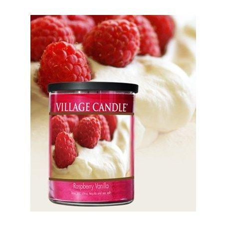 Village Candle Raspberry Vanilla 18oz