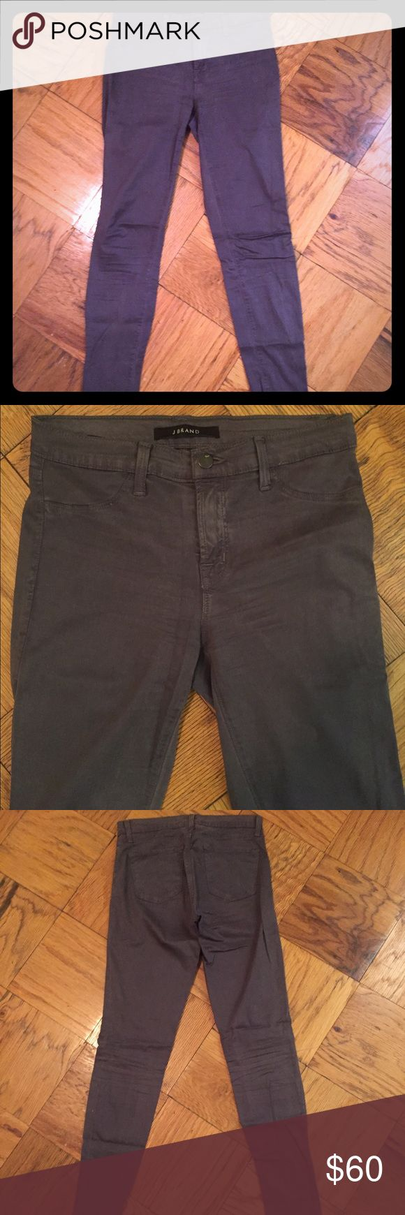 """J Brand Super Skinny Legging Jeans in """"ash"""" grey J Brand Super Skinny Legging Jeans in """"ash"""" grey. Super soft, comfortable with stretch. Mid-rise. J Brand Jeans Skinny"""