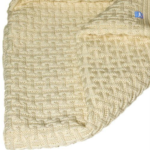 Wallaboo Baby Blanket Eden, Beautiful and Soft Knitted Fabric, Size 35 x 28 100% | eBay
