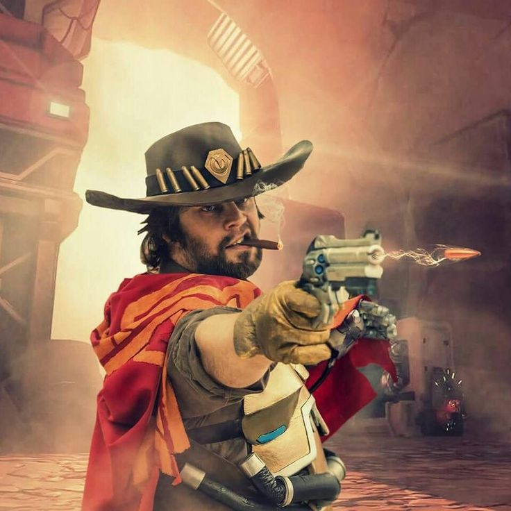My McCree cosplay, check out my page Guardian of Avalon cosplay on Facebook