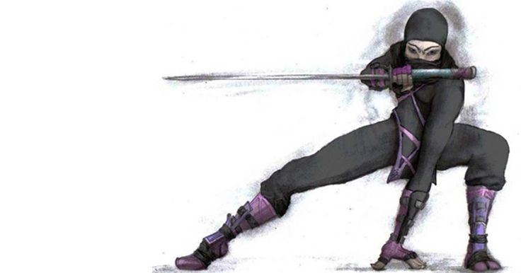 Deadly Female #Ninja #Assassins Used Deception and Disguise to Strike Their Target