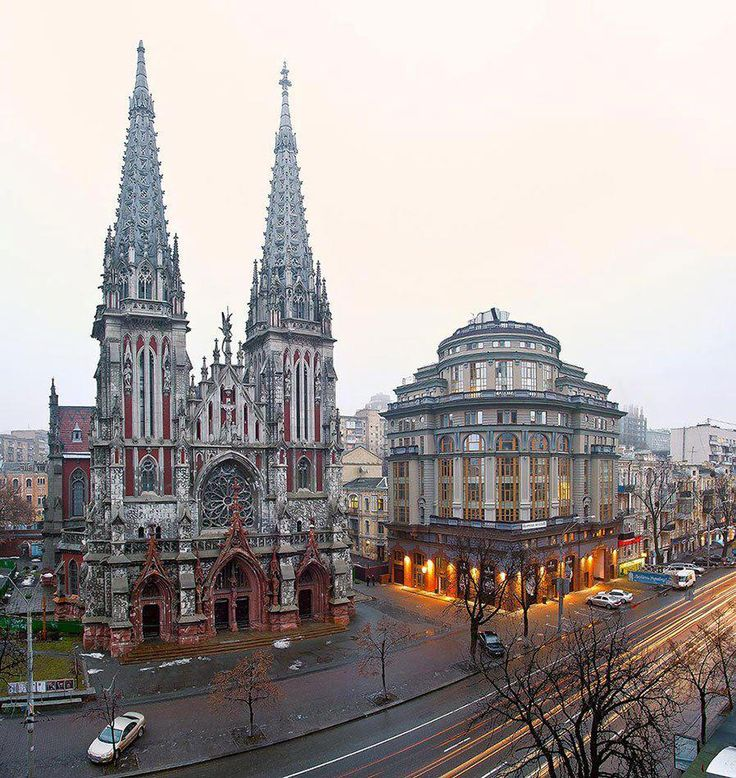 St. Nicholas Roman Catholic Cathedral, Kyiv, Ukraine