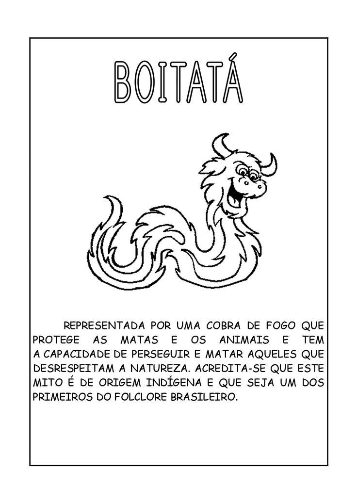 lendas brasileiras para colorir - Pesquisa Google