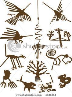 nazca tattoo - Google Search