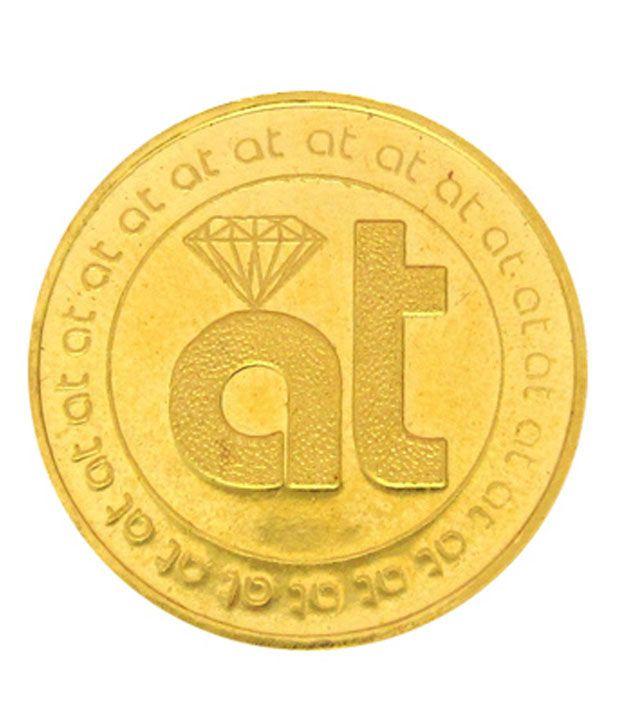 Atjewel 5 Gram 999 Gold Coin