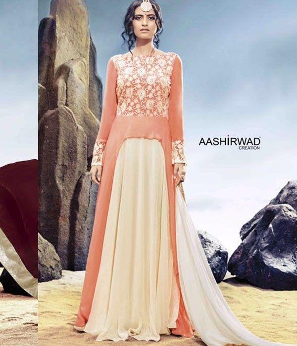 Buy indian Designer Anarkali salwar Kameez