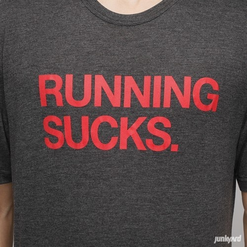 "Nike - T-Skjorte ""Running Sucks""- junkyard.no ($20-50) - Svpply"