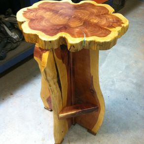 Custom Cedar Furniture by Michael James