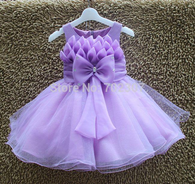 Купить товарЛето девочка платье милый девочка ну вечеринку платье с фиолетовый бант цветок платье size3 12 MK 608 в категории Платьяна AliExpress.         Новая девушка прибытия платье милые девушки платье принцессы         Размер: 3,4, 6,8, 10,12         Вы можете в