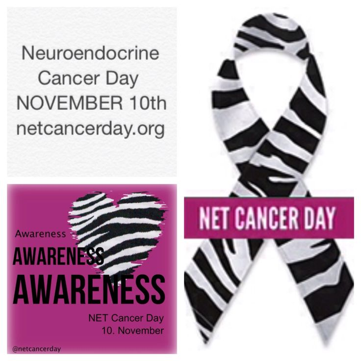 World NET Cancer Day is November 10th!!! Visit www.netcancerday.org to learn more!
