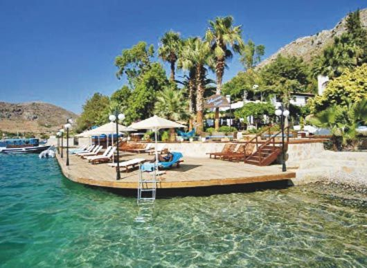 marmaris selimiye had lovely lunch here
