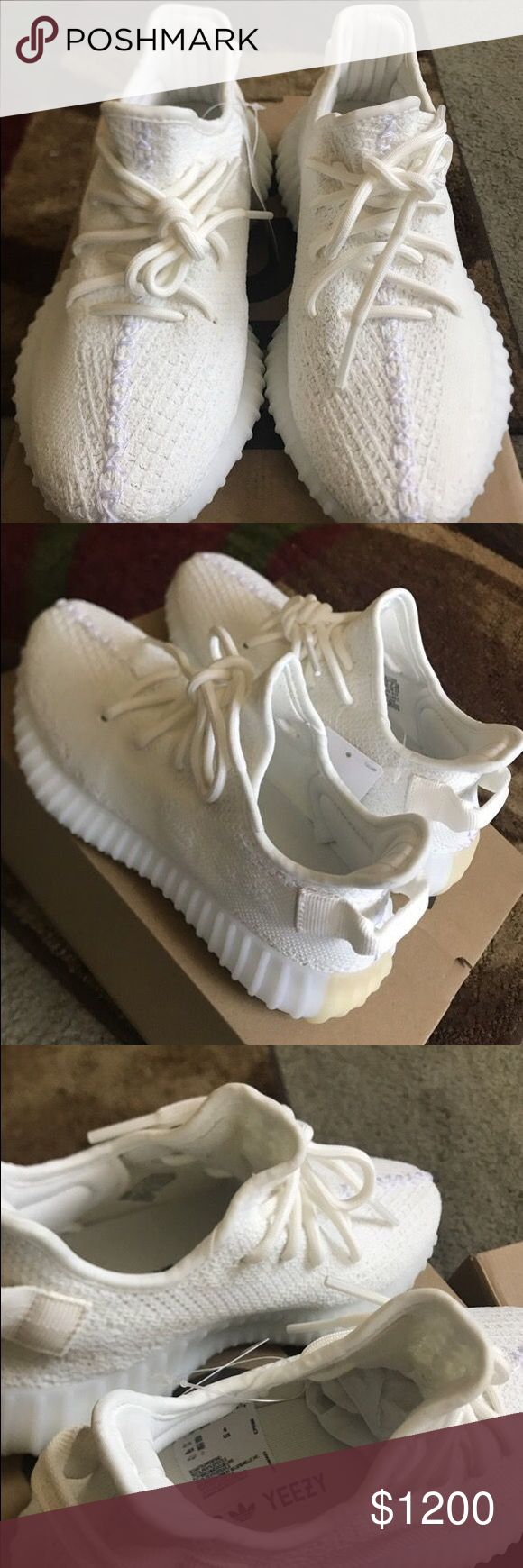 Yeezys Cream If You Wanna Buy This Item Contact Me @9122267934 & We Can Negotiate The Price & Make Great Deals :) Yeezy Shoes Sneakers