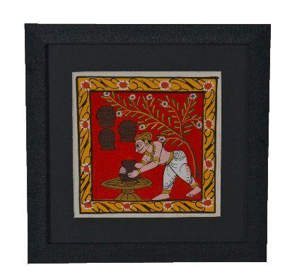 Cheriyal Painting Pottery Theme