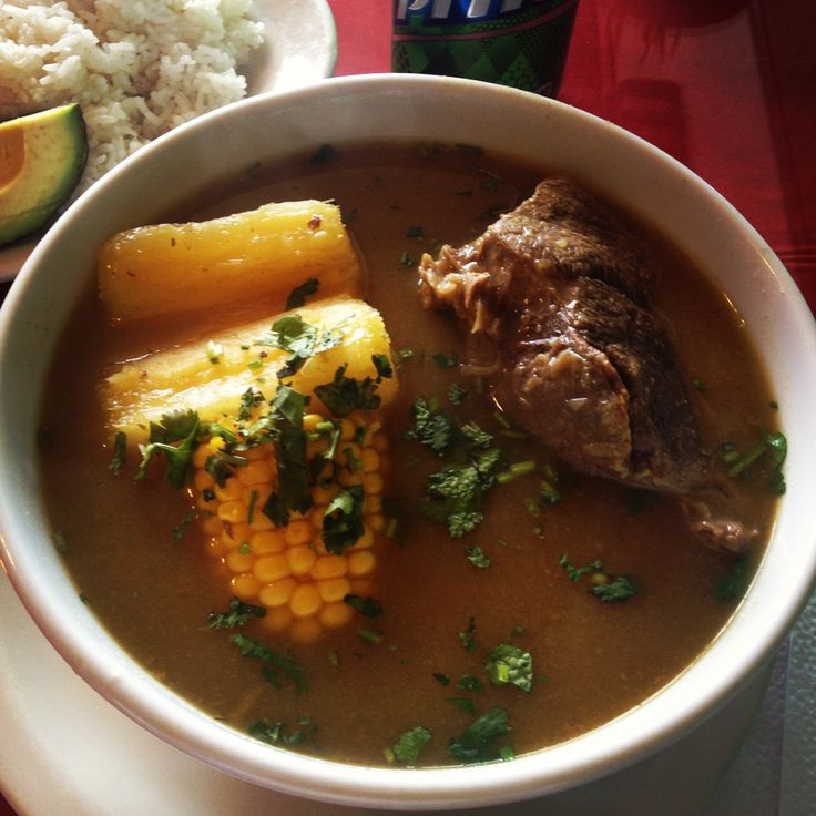Soup  Sancocho Colombiano
