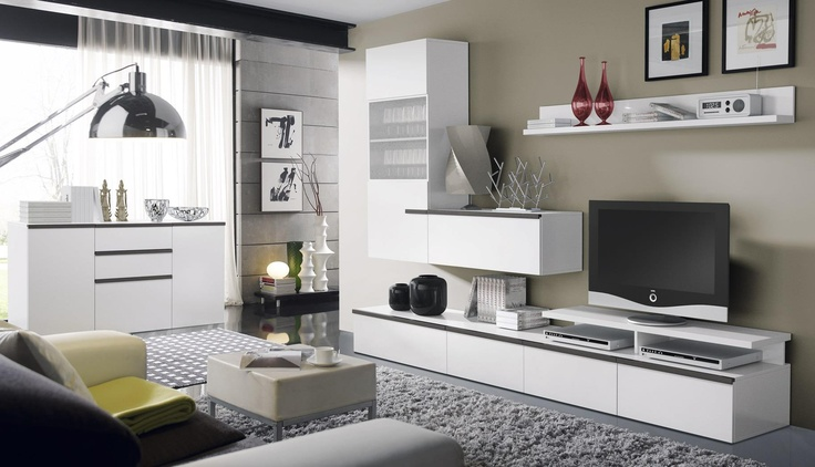 15 best muebles de estancias images on pinterest lounges for Muebles de living