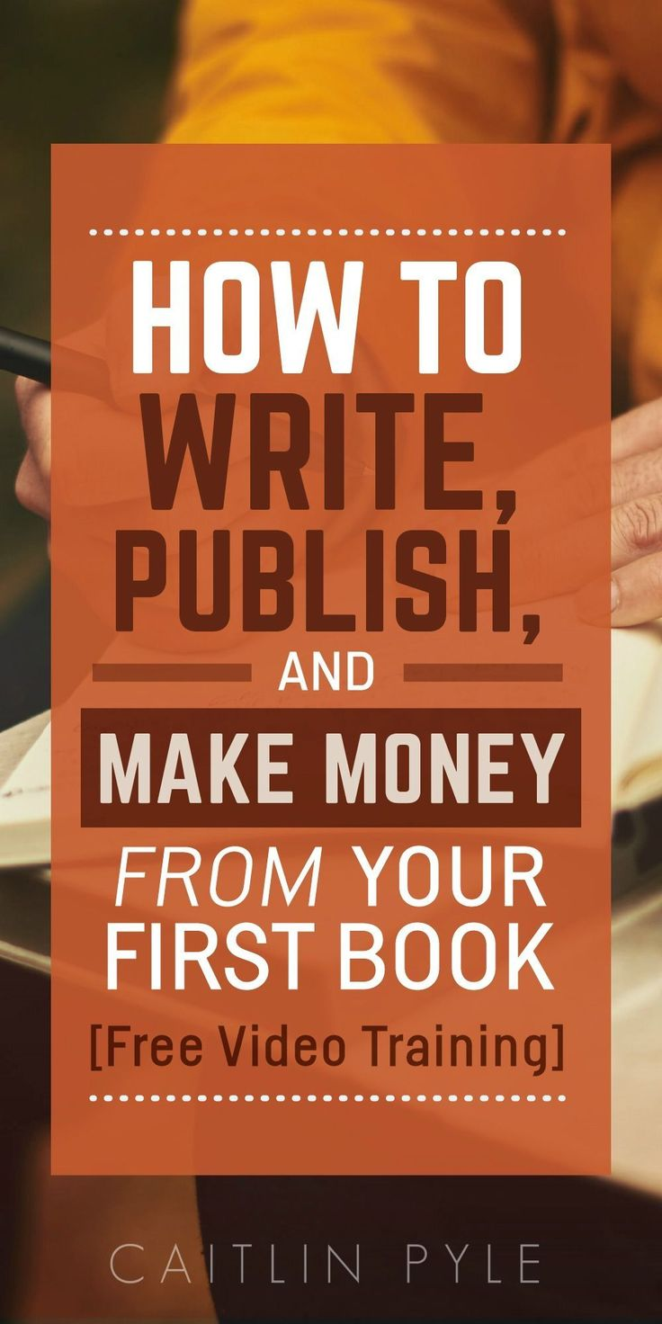 Self-publishing is an ART! Start learning the craft with this free video training. #affiliate #SuccessfulEbookPublishing