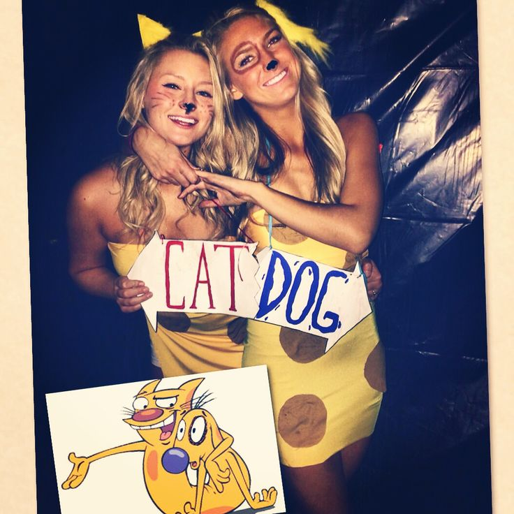 CatDog! DIY Halloween costume