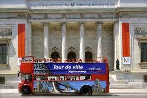 Double-Decker Bus Tour Montreal, Quebec, Canada