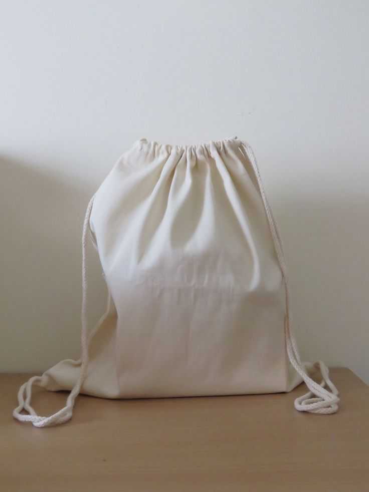 Calico Tote Bag Canvas Tote Bag Drawstring Bag $3.90 apollocalicobags.com.au