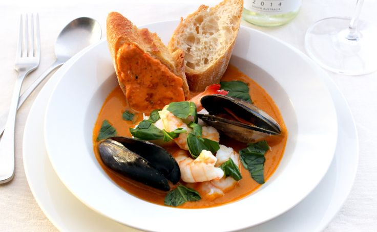 thermomix seafood bisque